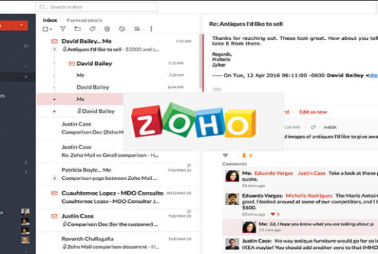 fix your zoho domain mail issues