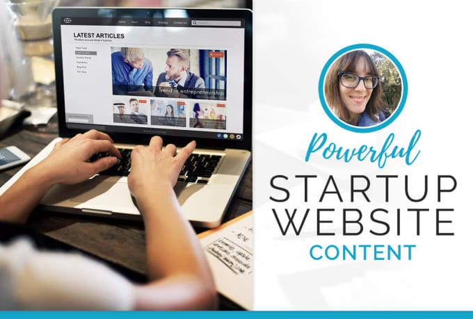 write your startup business website