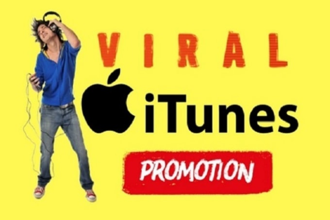 viral apple music promotion, or itunes music promotion, and marketing for  you