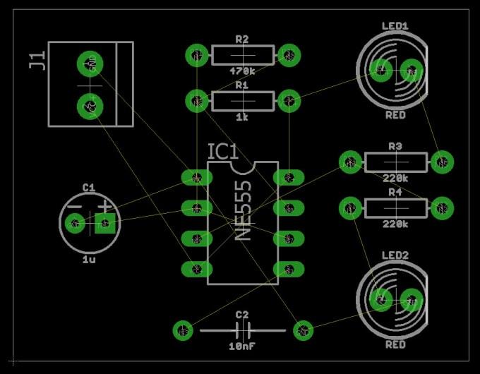 design pcb layout of any electronics circuits