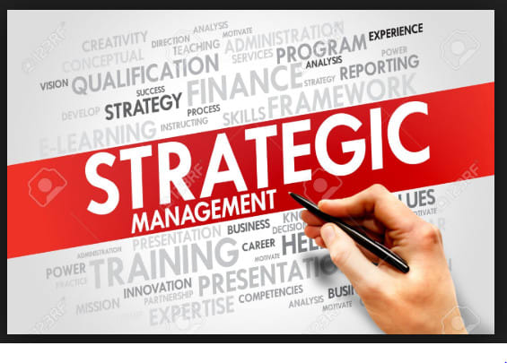 assist with strategic management topics