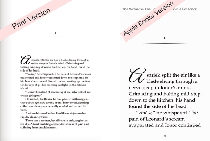 turn your novel into a pro formatted kindle file