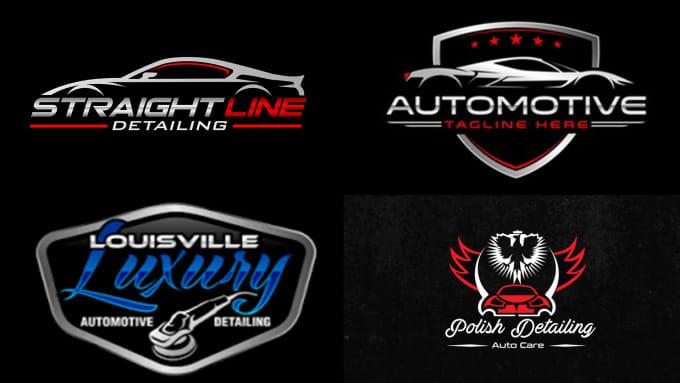 Do Auto Detailing Auto Mobile And Car Wash Logo Design