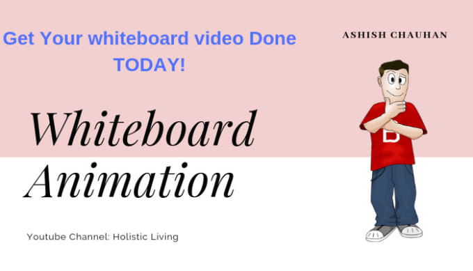 create a custom whiteboard animation video with videoscribe