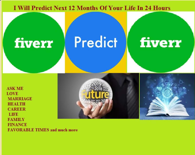 predict and psychic readings next 12 months of your life in 24 hours
