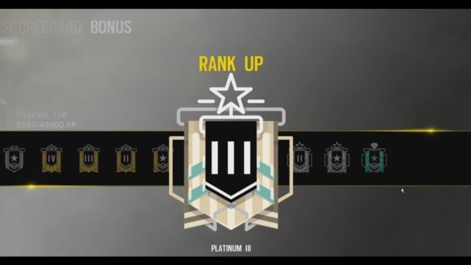 rainbow six siege experienced ps4 coaching sessions