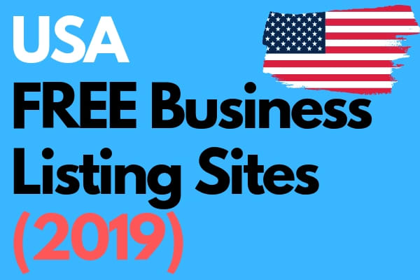 sanil2780 : I will give list of active and free USA business listing sites  for $10 on www fiverr com