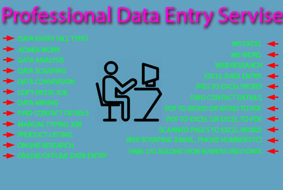 do data entry projects