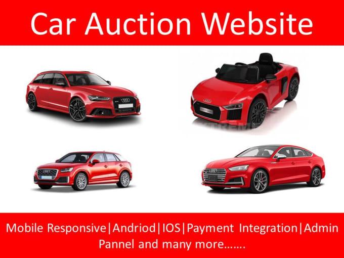 Car Auction Apps >> Provide Automobile Car Auction Website With Mobile Apps