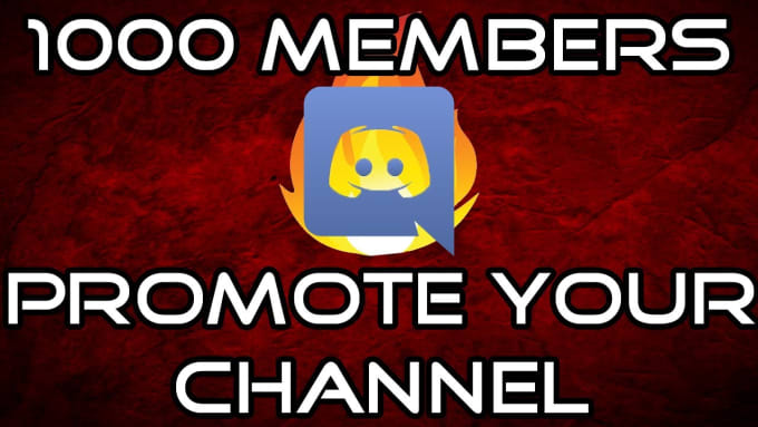 promote you on my popular discord server