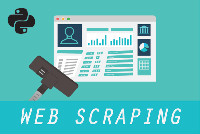 do web or data scraping and generate it to excel, csv, json with python