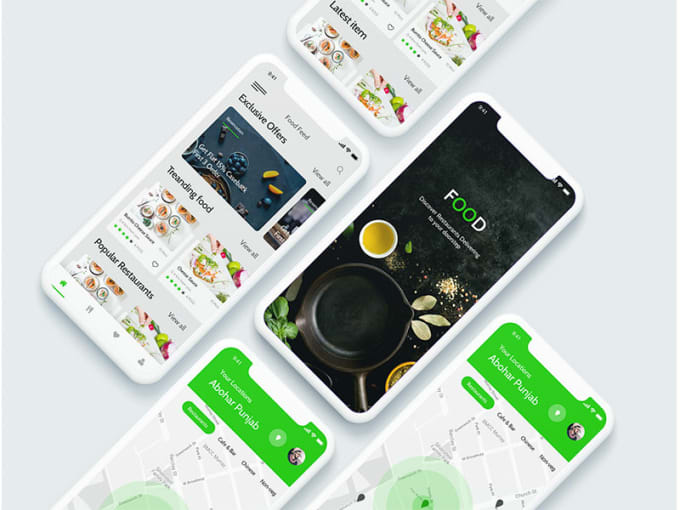 zainsaad : I will build food delivery app like grubhub doordash ubereats  for $900 on www fiverr com