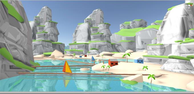Make 3d Mobile Optimized Game Environment Design