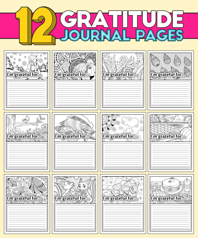 coloringlife101 : I will give grateful and gorgeous coloring calendars and  planners for $30 on www.fiverr.com