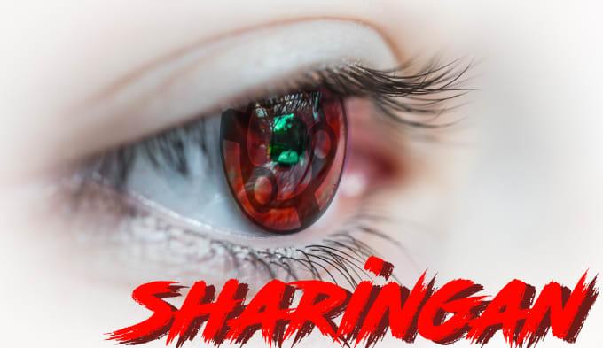 make you a sharingan eyes