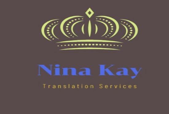 ninakay91 : I will provide premium hindi, arabic, urdu to english  translation for $15 on www fiverr com