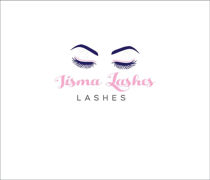design awesome eye lashes logo
