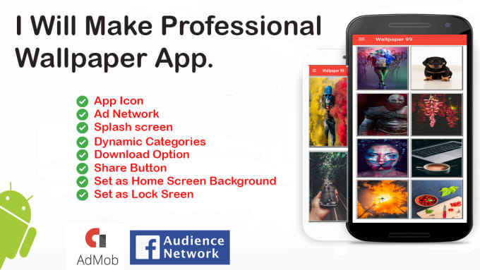 Make A Professional Wallpaper Android App