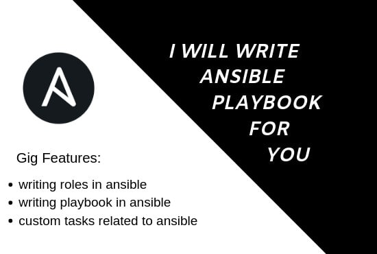 write ansible playbook for you