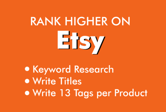 optimize your etsy listing by writing SEO title and tags