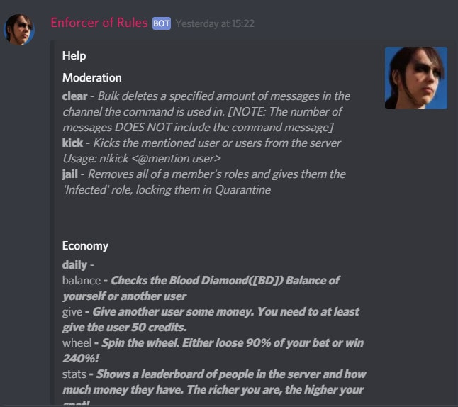 create a custom discord bot for your server
