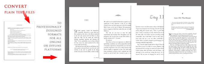 I Will Print And Ebook Layout Book Formatting Interior Book Design