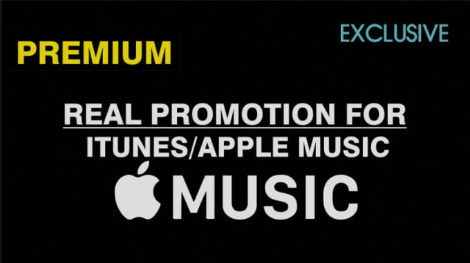do viral itunes music promotion, apple music promotion and ensure real  traffics