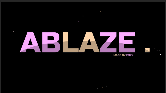 sell this ablaze gfx pack PSD