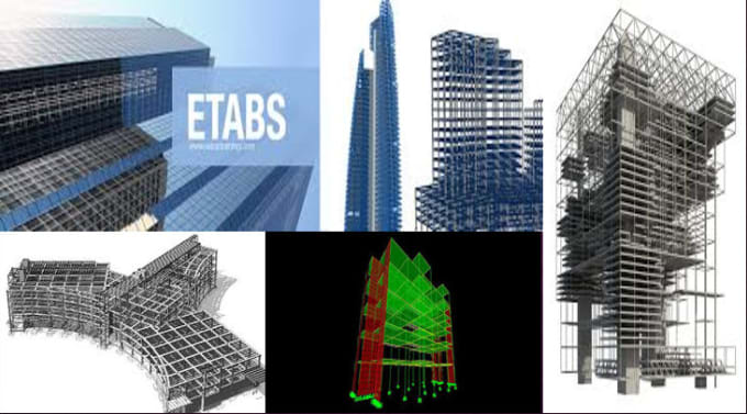 engineer_ahmar : I will provide analysis and design by sap2000 and etabs  for $5 on www fiverr com