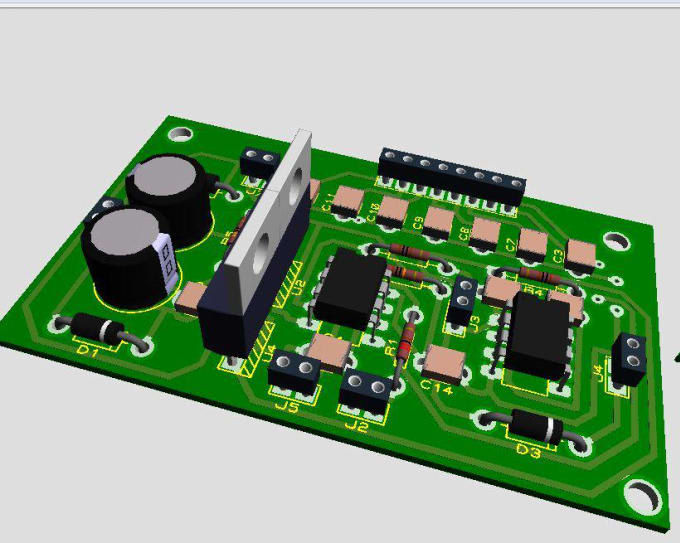 design pcb layout for you
