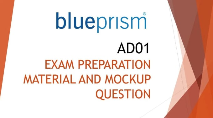 provide you rpa mockup question for blue prism