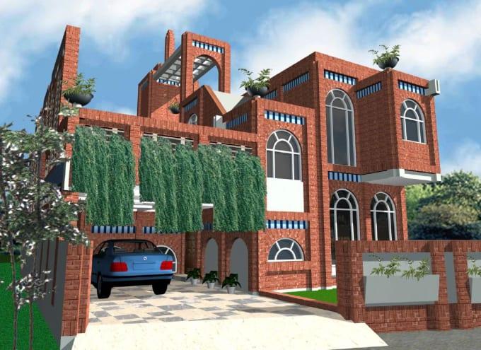 design energy efficient building with construction details