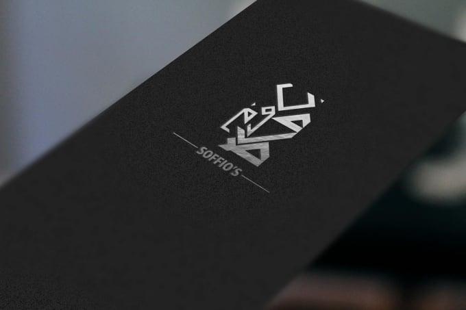 Design Creative Calligraphy Logo