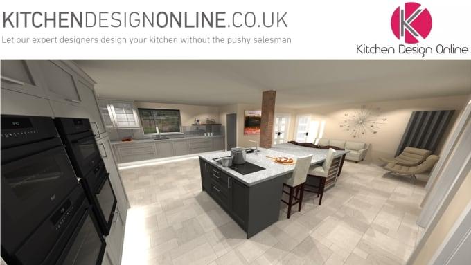 design a kitchen online UK specification