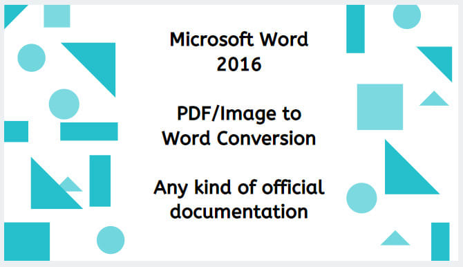 talhazubair1122 : I will create a document on microsoft word for $10 on  www fiverr com
