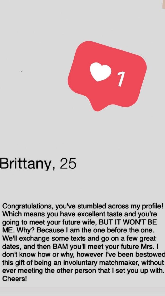 Wie schreibt man ein Bio für Online-Dating Geschwindigkeit von 36