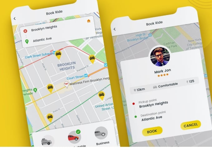 ternarapps : I will do uber clone android and admin with golang backend for  200usd for $200 on www fiverr com