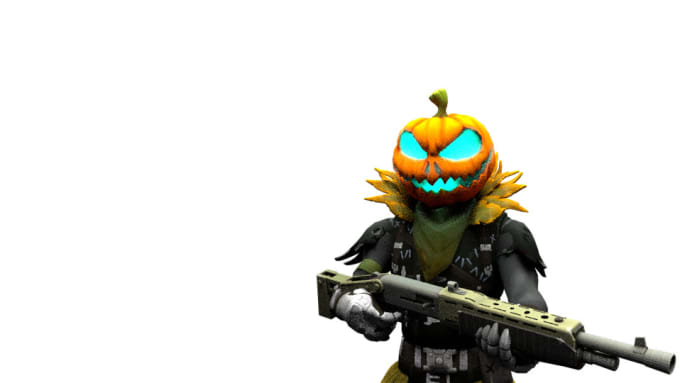 make any fortnite skin 3d and render it for you
