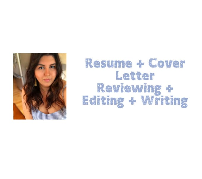 resume and cover letter editing