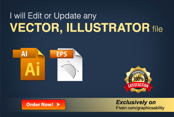 graphicsability : I will edit or update vector, illustrator files for $5 on  www fiverr com