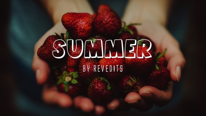 revedits : I will design an elegant summer season template including HD  images for $5 on www fiverr com