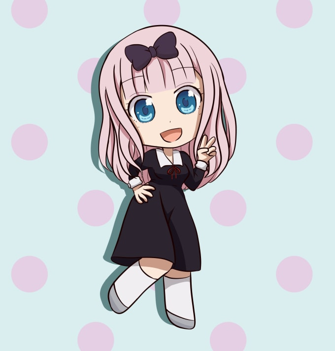 Draw you as anime character or a chibi or some fan art for you by ...