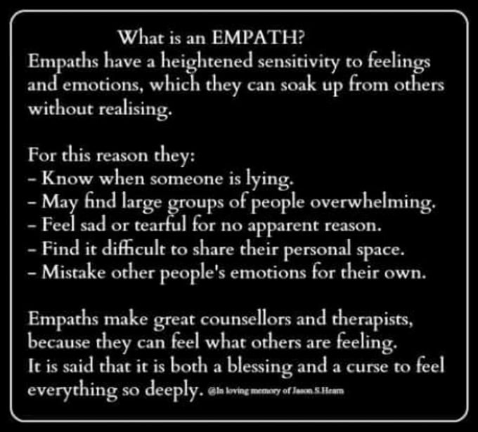 soulexpsp : I will give a basic empath reading about you or someone else  for $5 on www fiverr com