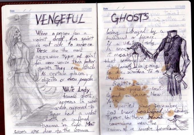 paranormal journal