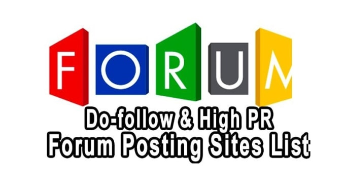 proseo101 : I will provide 20 forum posting use your niche for $35 on  www fiverr com
