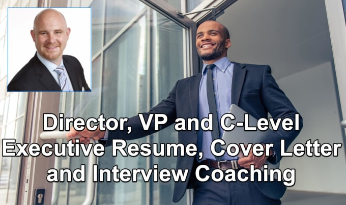 write a director, vp, executive or c level resume and cover letter