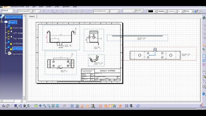 design 3d sheet metal in catia v5
