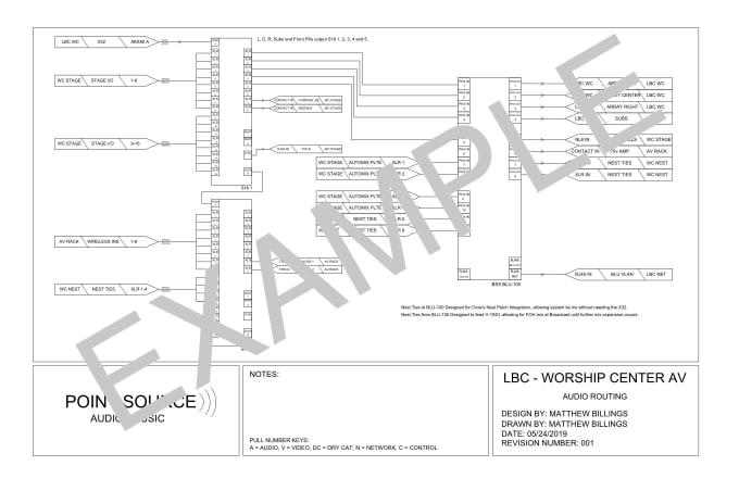 matthewbillings : I will design autocad schematics for your av system on