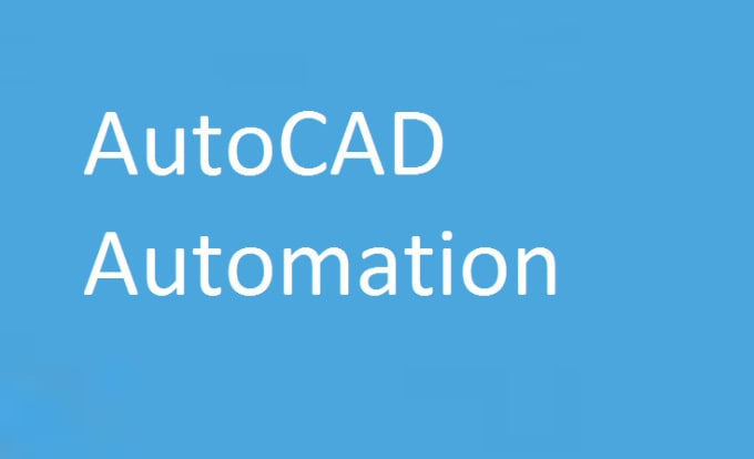 amitkshirsag999 : I will do autocad automation by excel vba for $515 on  www fiverr com