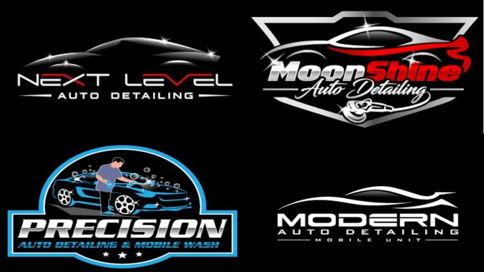 Do Automotive Auto Detailing And Car Wash Logo Design